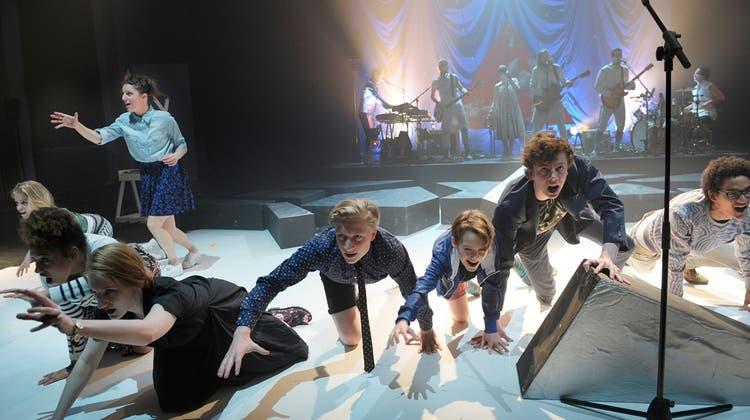 Lebensfrohes Popmusical mit Basler Band handelt davon, Bleibendes zu schaffen