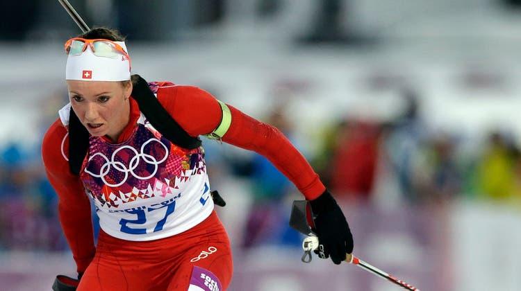 Und noch eine Medaille: Selina Gasparin holt Silber im Biathlon