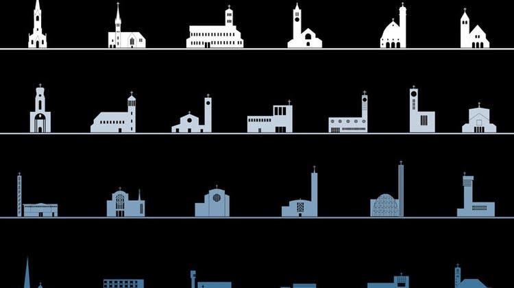 Die Stadt präsentiert Zürichs Kirchengeschichte in einer Ausstellung