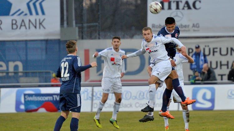 Der FC Wohlen trotzt Leader Vaduz beim Rückrundenstart einen Punkt ab