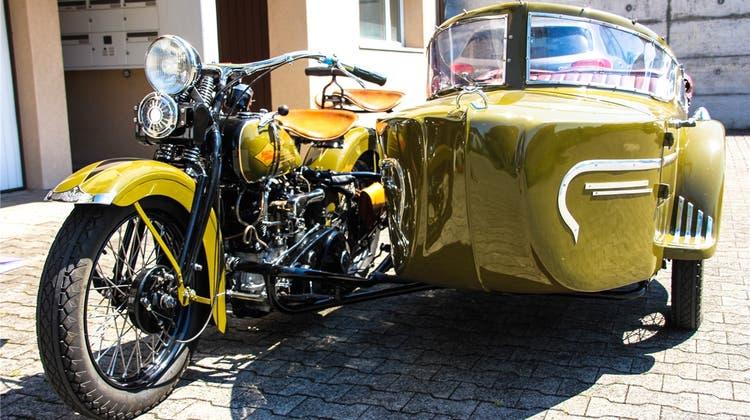 Diese Harley-Davidson begleitet eine Familie schon seit drei Generationen