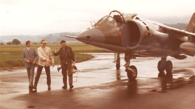 Kein Militärflugplatz - Der Kampfjet kam trotzdem nach Grenchen