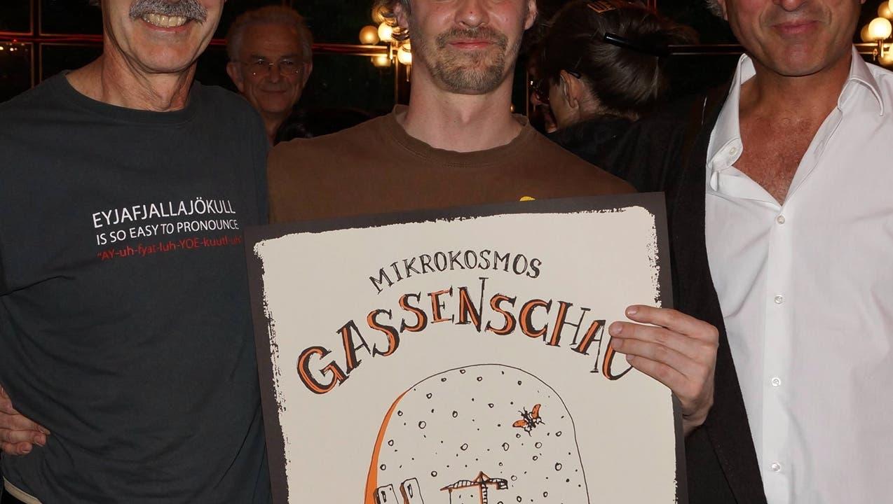 Heinz Winter gewährt intime Blicke hinter den Mikrokosmos Gassenshow
