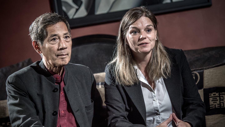 Sucharit Bhakdi und seine Frau Karina Reiss. (Pius Amrein  (lz) / Luzerner Zeitung)