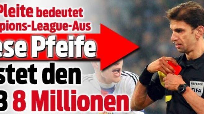 Presseschau: «Diese Pfeife kostet den FCB 8 Millionen»