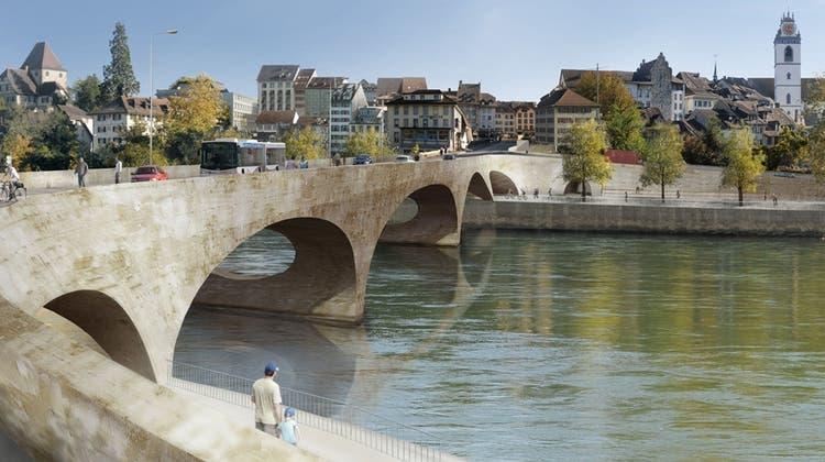 Der Bau der neuen Kettenbrücke kostet die Stadt Aarau fast neun Millionen