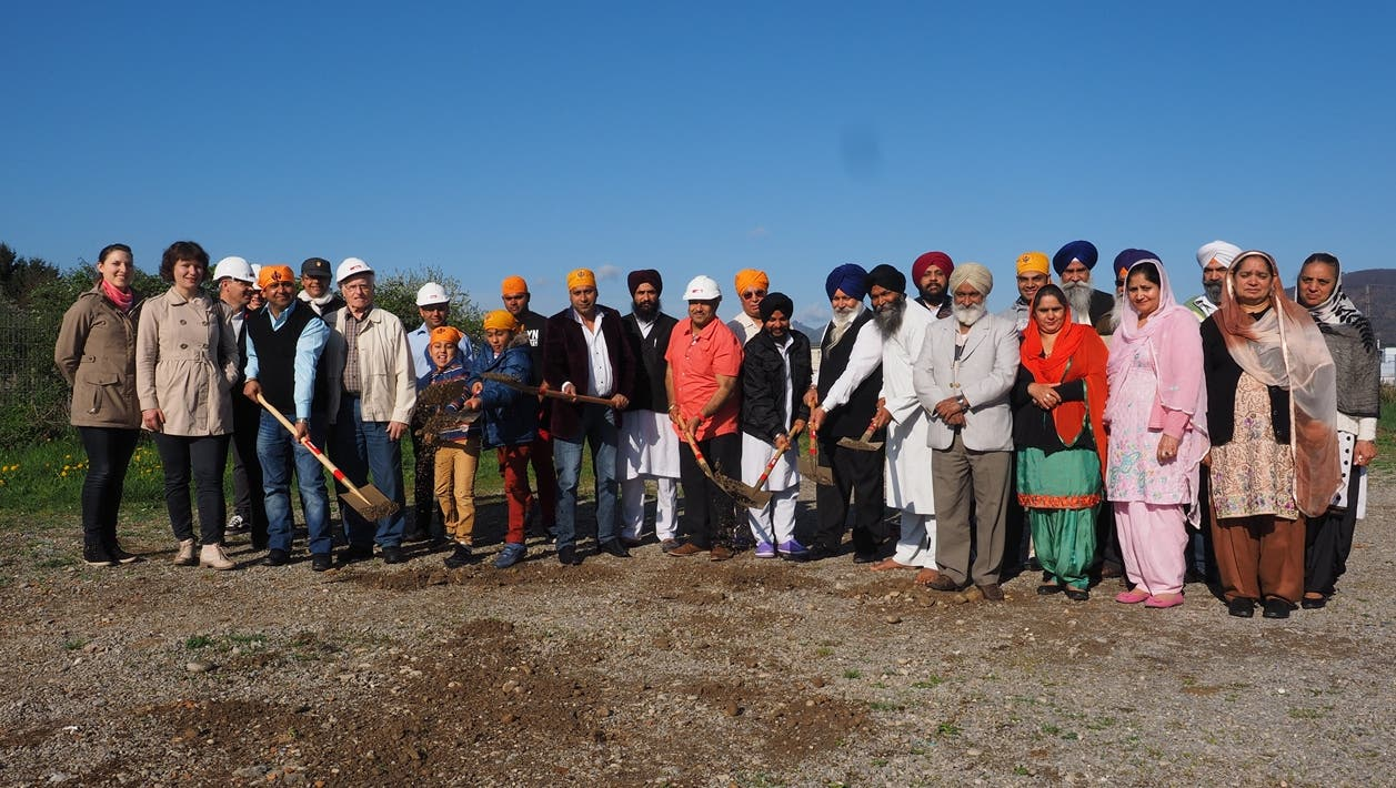Die Sikh-Gemeinde bekommt im Herbst ein neues Gebetshaus