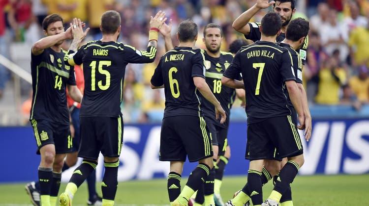 Spanien gewinnt Spiel um die Ehre gegen Australien 3:0