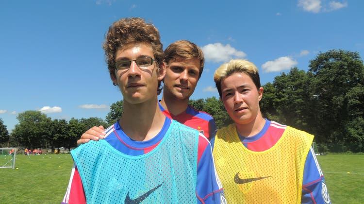 In diesem Training machen behinderte Jugendliche den FCB-Stars Konkurrenz