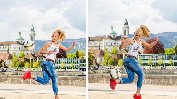 Schnelle, freche und treffsichere Solothurnerin