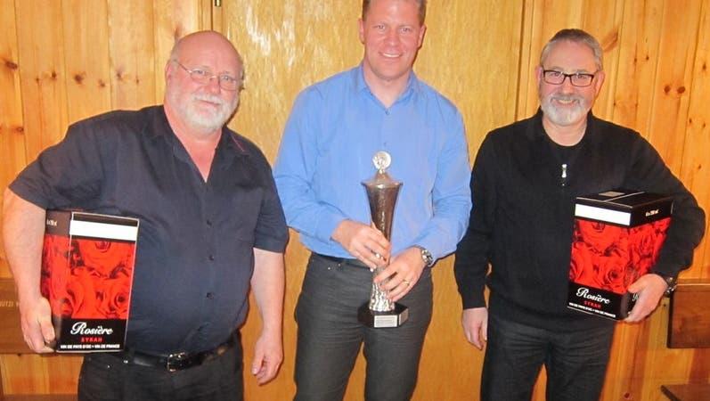 Roland Huber dominiert die Vereinsmeisterschaft