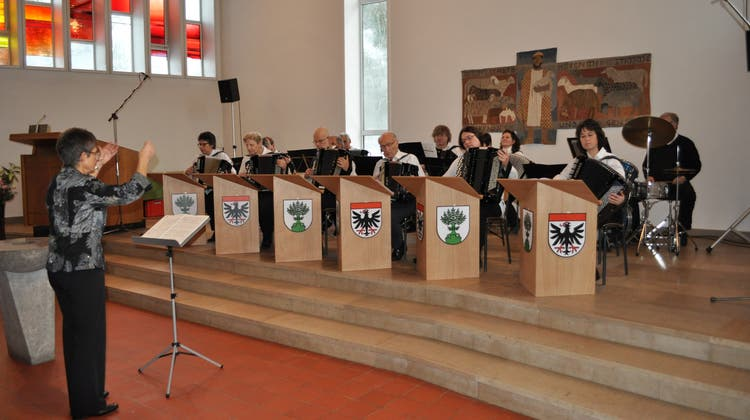 Kirchenkonzert des Handharmonika Klub Aarau
