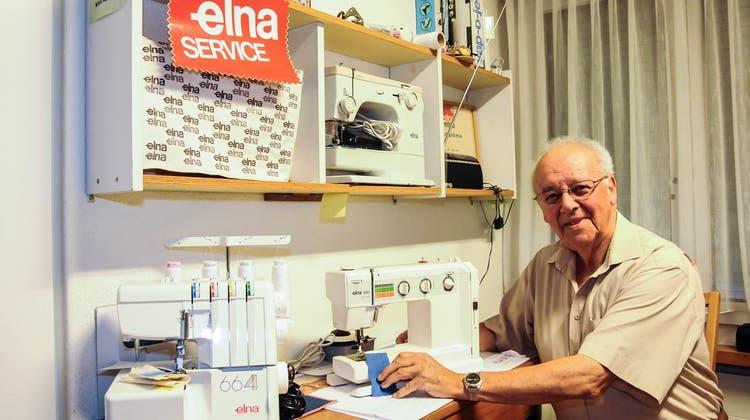 Bei ihm haben Generationen von Freiämterinnen ihre Nähmaschinen gekauft