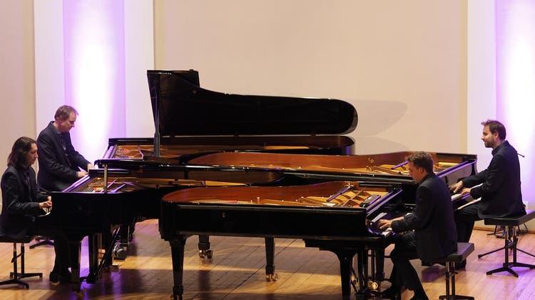 Piano Quartet und ein 3-Gang-Dîner