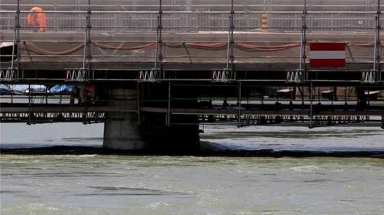 Als es in Solothurn Hochwasser wie in Passau gab