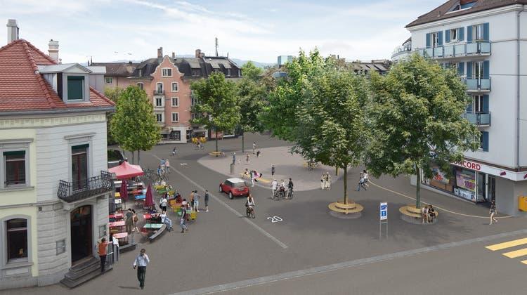 """Der Röschibachplatz wird zur gemütlichen """"Piazzetta"""" umgestaltet"""