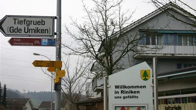Riniker wollen selbstständig bleiben: Falls Fusion, dann mit Stadt Brugg