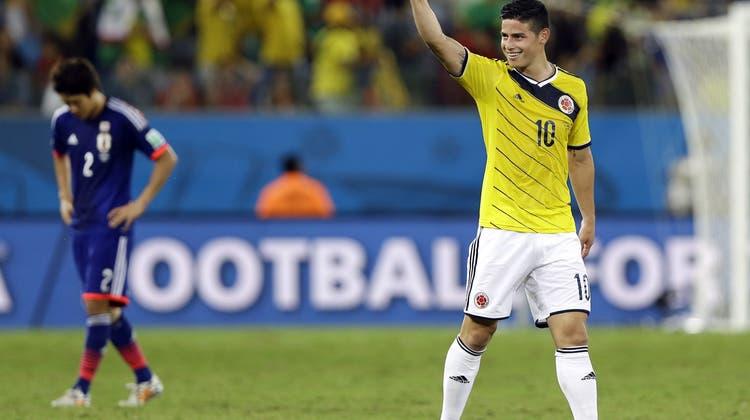 4:1-Sieg gegen Japan: Kolumbien mit makelloser Bilanz und einem WM-Rekord