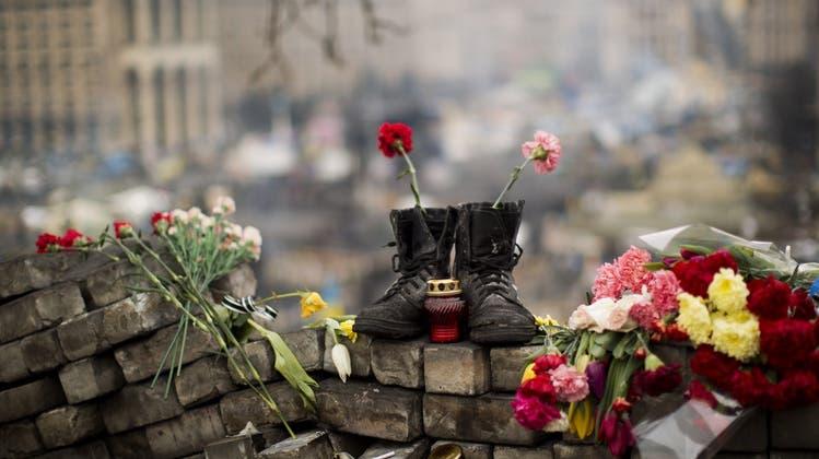 Ukrainische Scharfschützen schossen mit Schweizer Waffen auf Demonstranten