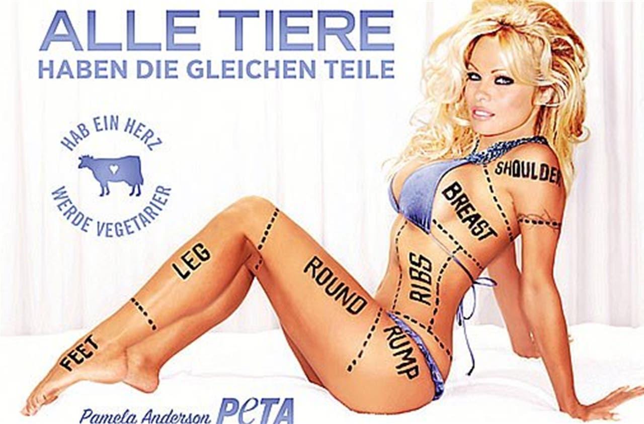 Setzt sich freizügig für Tiere ein: Pamela Anderson.