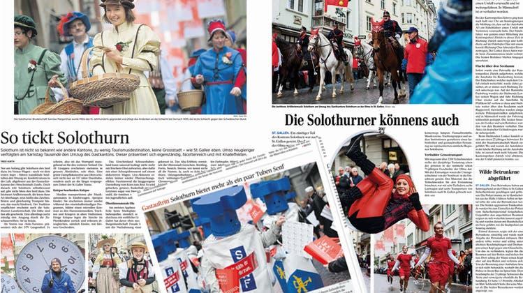 Die «Invasion der Senftuben» gefällt in St. Gallen