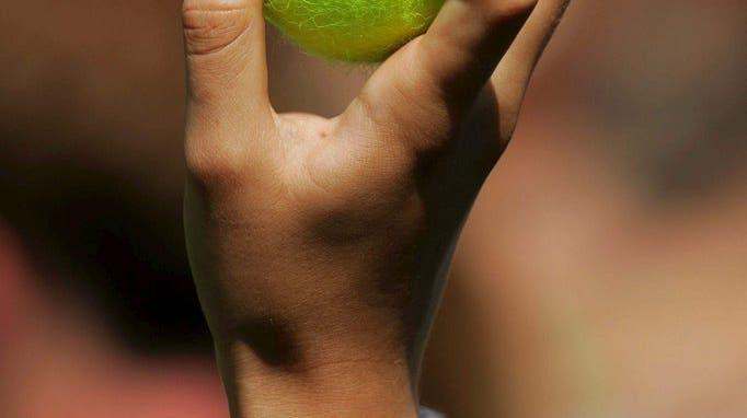 Tennisbälle in Wimbledon: Zwei Mal um die Welt für neun Games