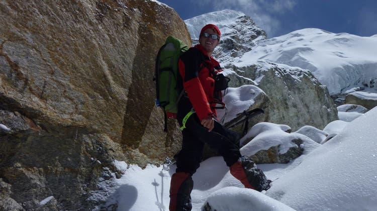Seine letzte Tour führte ihn senkrecht den Berg hinauf