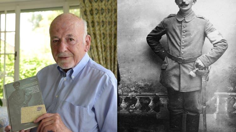 Briefe aus dem Ersten Weltkrieg - ein Derendinger diente an der Ostfront