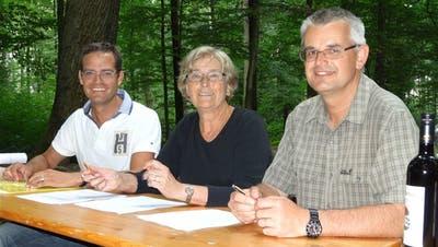 Das Eichenwaldreservat ist jetzt vertraglich gesichert