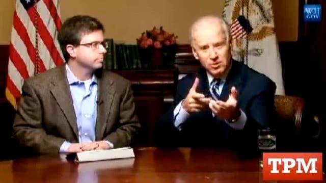 Ausgerechnet US-Vize Joe Biden lobt die Vorzüge einer Flinte