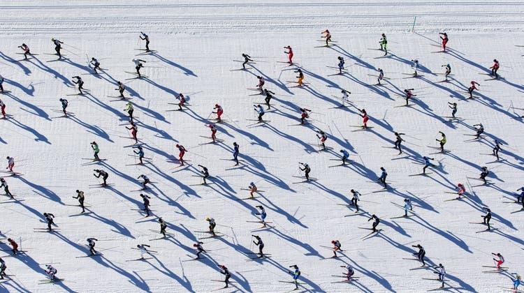Engadiner Skimarathon mit 12'000 Läufern – Schweizer verpassen knapp den Sieg