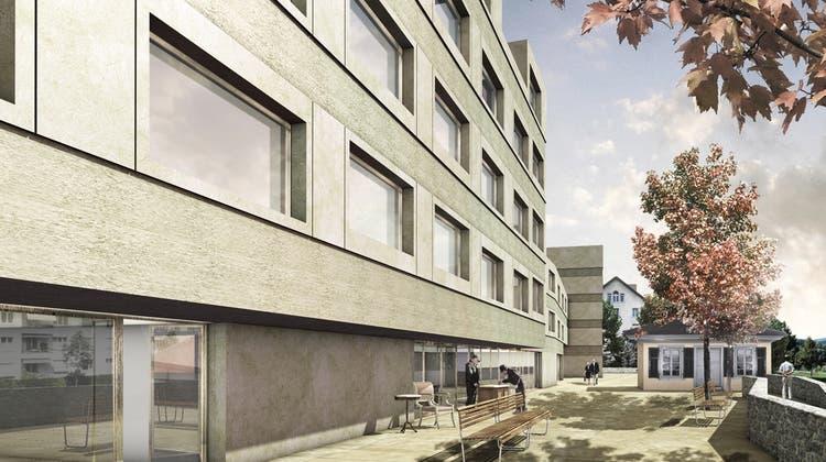In Aarau soll schon bald eine neue Kirche mit Aareblick entstehen