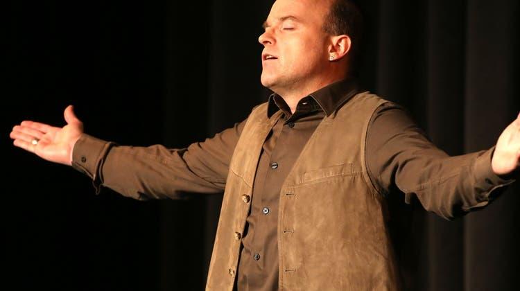 Willy Näf gewinnt erste Vorrunde des Castings an Kabarett-Tagen