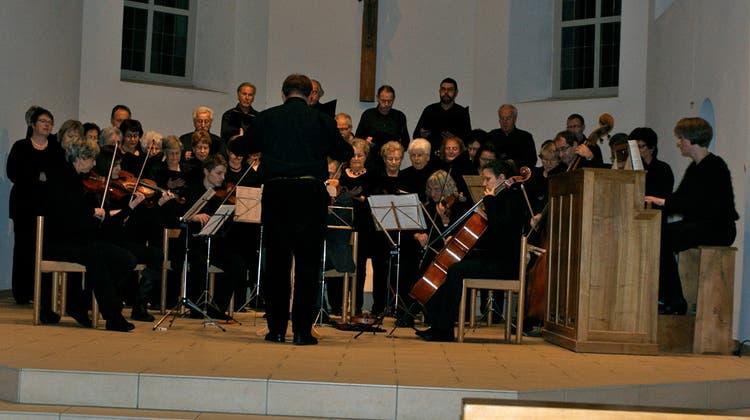 Am Ende sang das Publikum «Stille Nacht, Heilige Nacht»