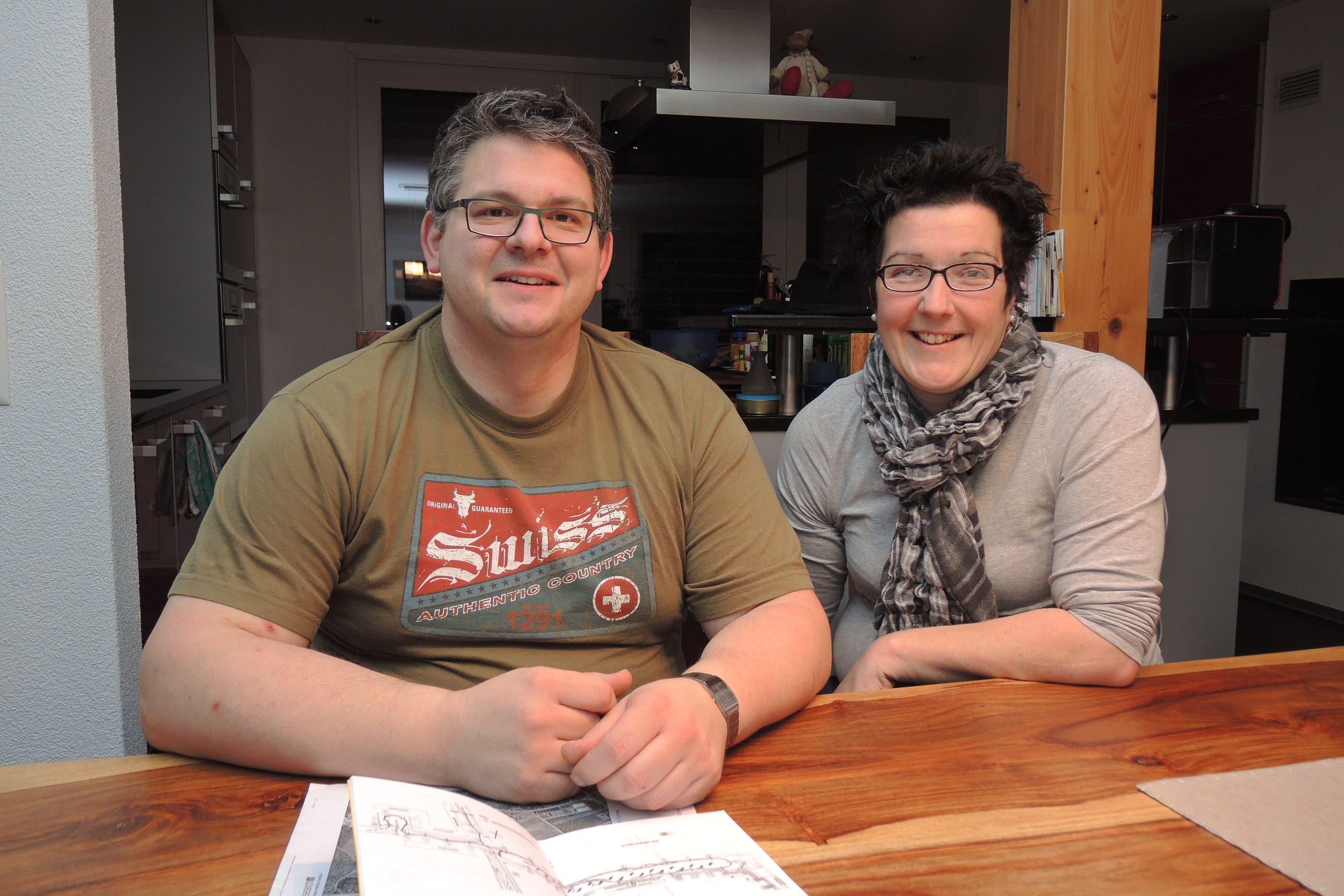 Stefan Buser ist Präsident der Ecurie Dynamic Grenchen, Patricia Brog, Sekretärin des Vereins
