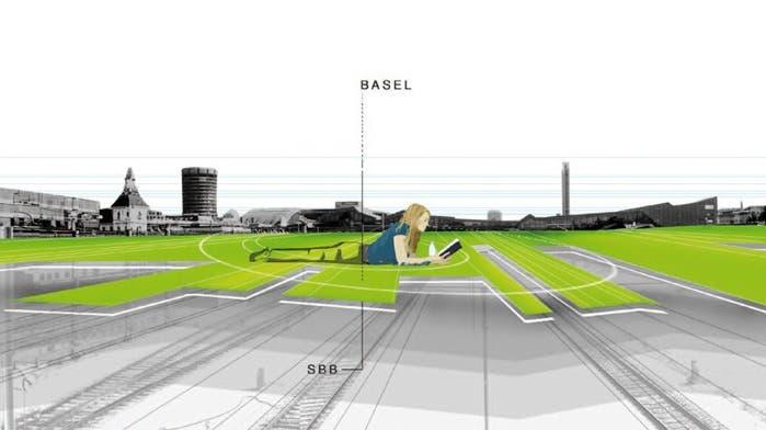 Central Park Basel vs. Zentralgrünanlage Bahnhof