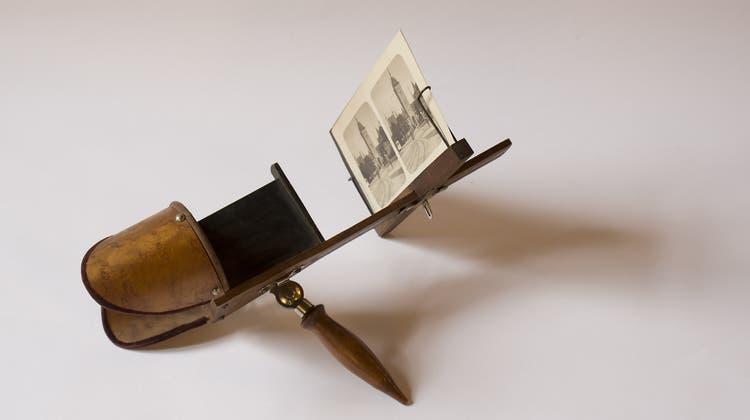 Dreidimensionales Zürich: Stereobilder von Johannes Meiner um 1900