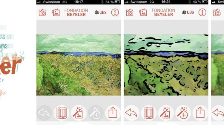 Mit dieser App werden die eigenen Fotos zu Kunstwerken à la van Gogh