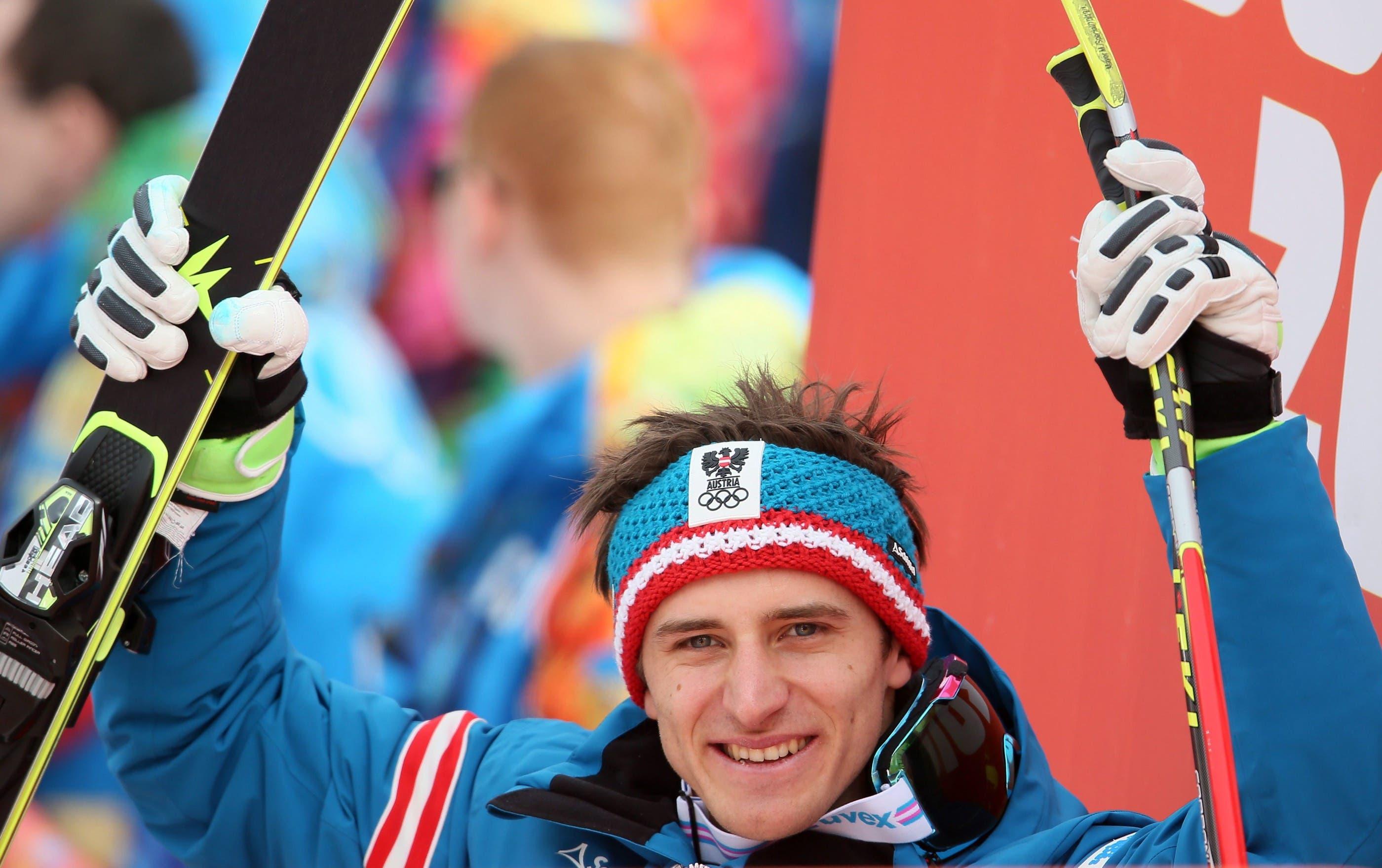 Matthias Mayer lässt sich feiern