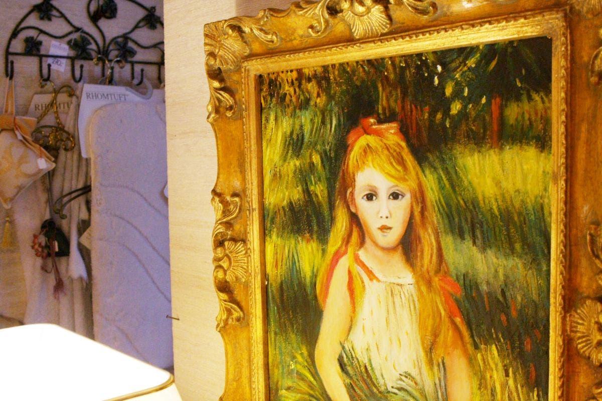 Auch ein Monet hängt bei Eberhard Interieur