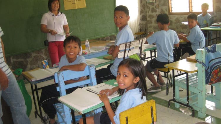 Mutschellen Kinderheim St. Martin auf den Philippinen