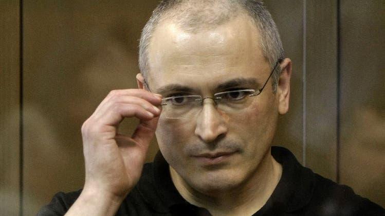 Chodorkowski will sich in die Politik Russlands nicht mehr einmischen