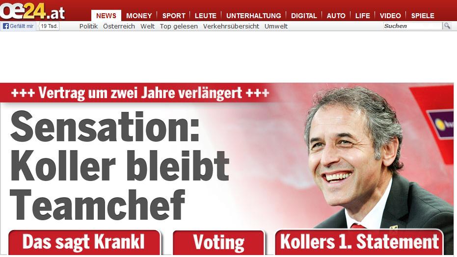 Marcel Koller sagt der Schweiz ab