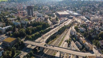 Wird der Bahnhof St.Fiden überdeckt? DerSt.Galler Stadtrat will eine zweite Machbarkeitsstudie
