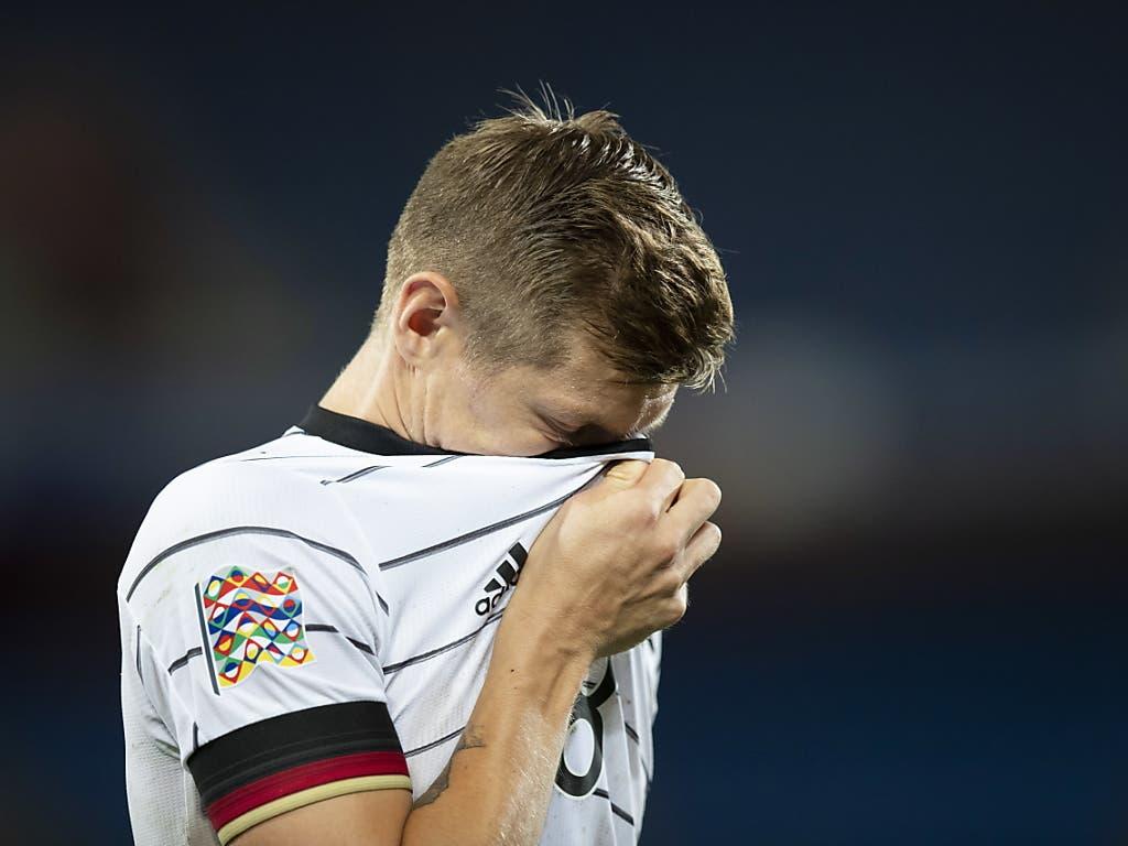Der deutsche Spielmacher Toni Kroos war mit sich und der Mannschaft nicht immer zufrieden