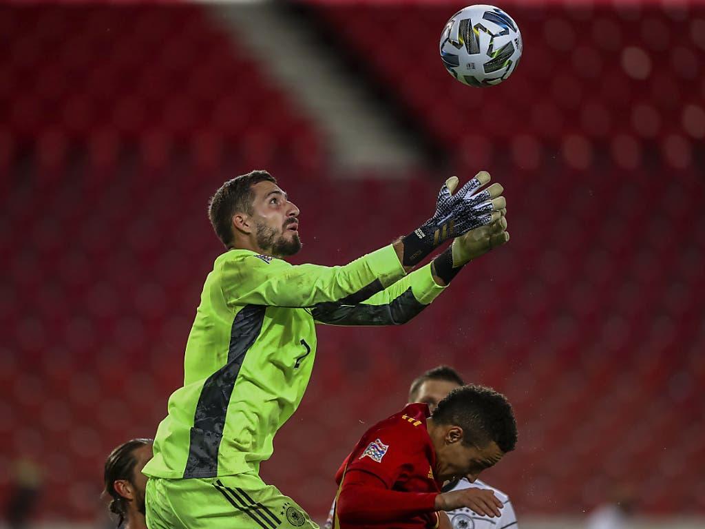 Kevin Trapp stand beim 1:1 in Stuttgart gegen Spanien im Tor der Deutschen