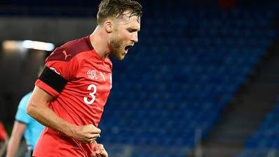 Nicht nur aufgrund seines Treffers zum 1:1 einer der besten Schweizer gegen Deutschland: Sivan Widmer. (Freshfocus)
