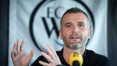 Alex Frei sieht sein Engagement beim FC Wil nicht als Plan B. (Bild: Benjamin Manser)
