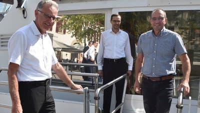 Sönke Bandixen löst Roger Forrer am Steuer der Schifffahrtsgesellschaft Untersee und Rhein ab – Weiterer Thurgauer in der Poleposition fürs Präsidium