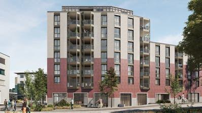 So könnte der Neubau für Wohnen im Alter in Rotkreuz aussehen. Die definitive Gestaltungder Aussenansicht steht noch nicht fest. (Visualisierung: PD)